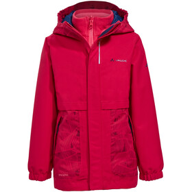 VAUDE Campfire 3in1 Jacket Girls crocus/pink